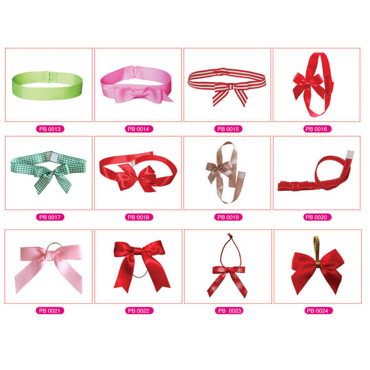 premade present gift wrapping ribbon bows