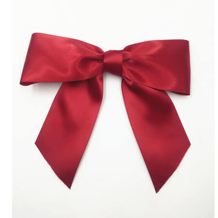 simple easy ribbon bow knot decoration