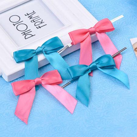 twist package ribbon bow